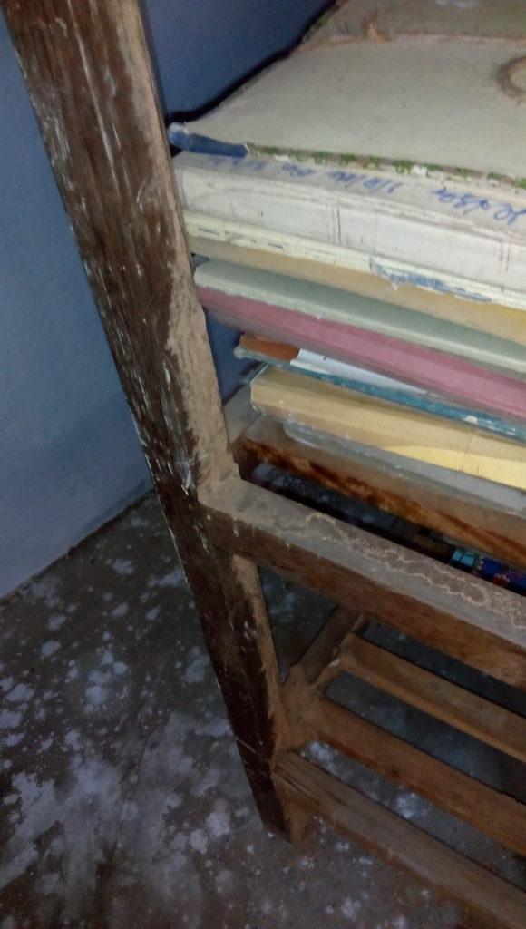 Arts Room Wooden Rack